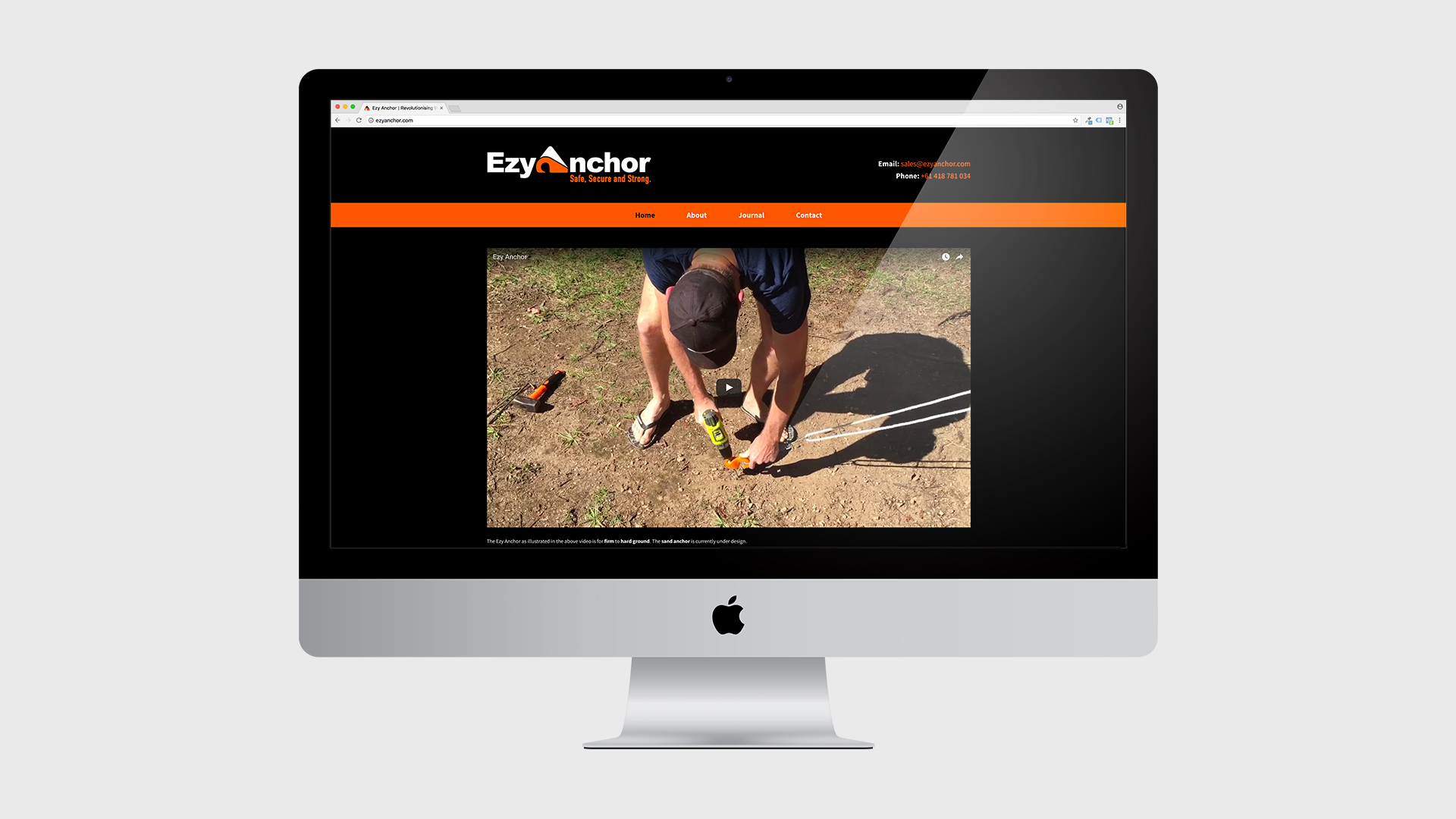 Ezy Anchor - Website Development